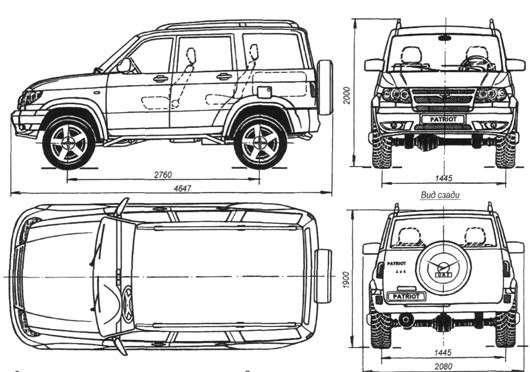 Автомобиль уаз патриот технические характеристики