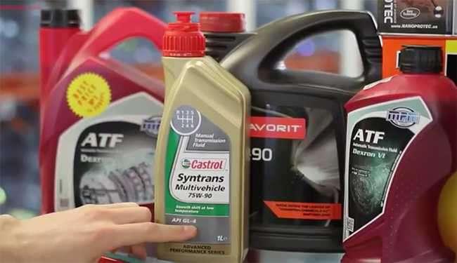Как подобрать трансмиссионное масло по марке автомобиля — видео советы