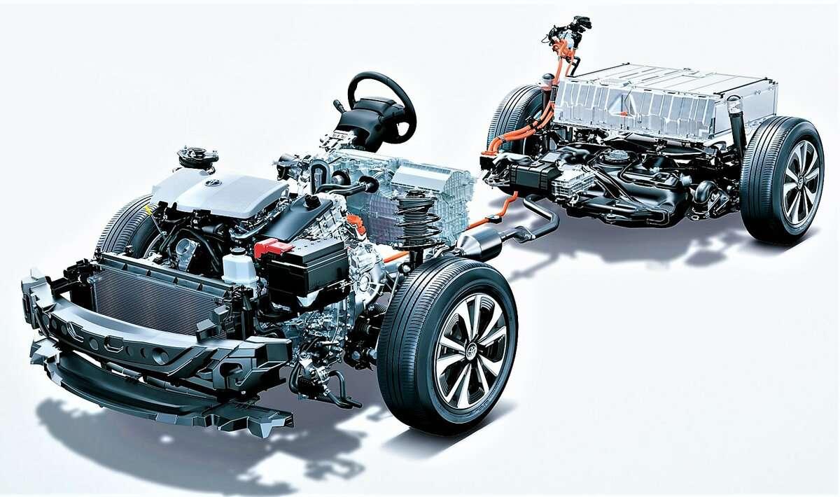 Конструктив: как устроена гибридная трансмиссия? Toyota Prius_ч