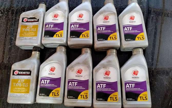 Масло ATF для АКПП: тип, свойства, проверка и что это такое
