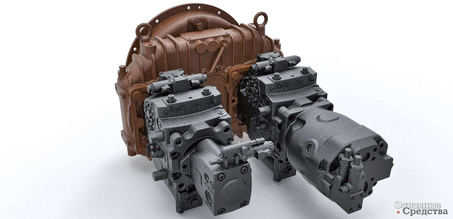 На каких грузовых автомобилях устанавливают гидростатическая трансмиссия
