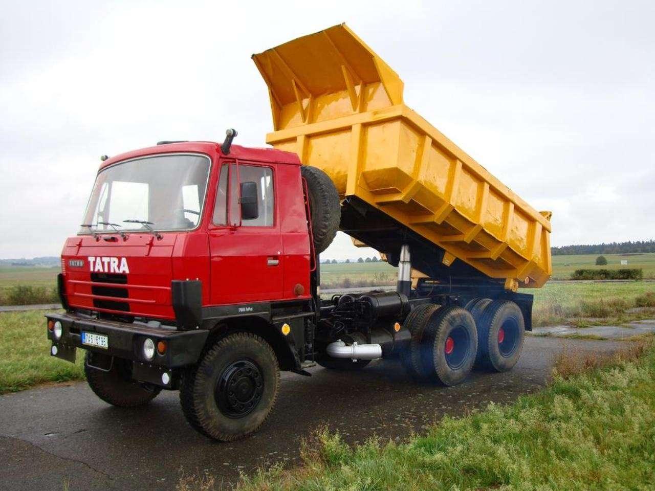 Татра-815 (Tatra T815): технические характеристики двигателя и трансмиссии, грузоподъемность и модельный ряд самосвалов