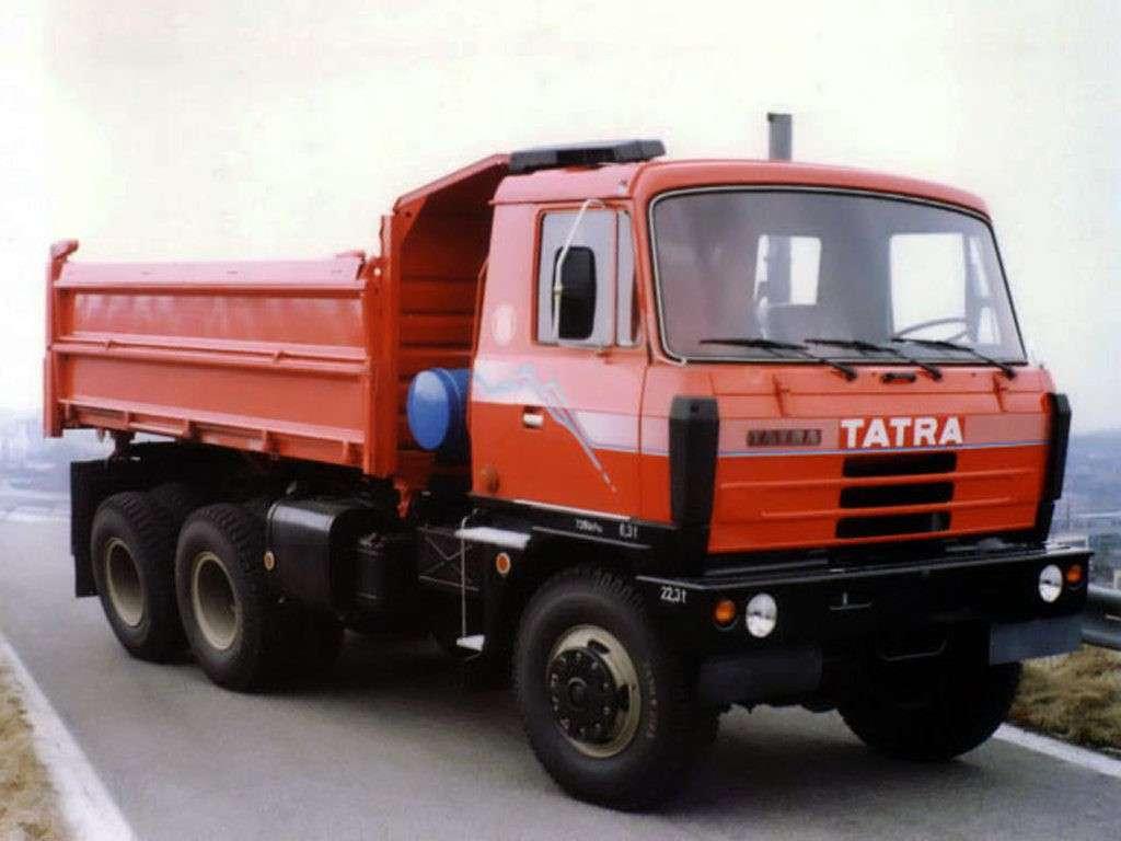Татра 815, технические характеристики