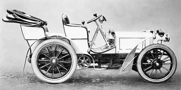 Трансмиссия первых автомобилей