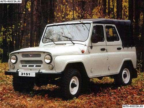 УАЗ 3151: технические характеристики узлов авто, особенности салона, внешний видПро УАЗик