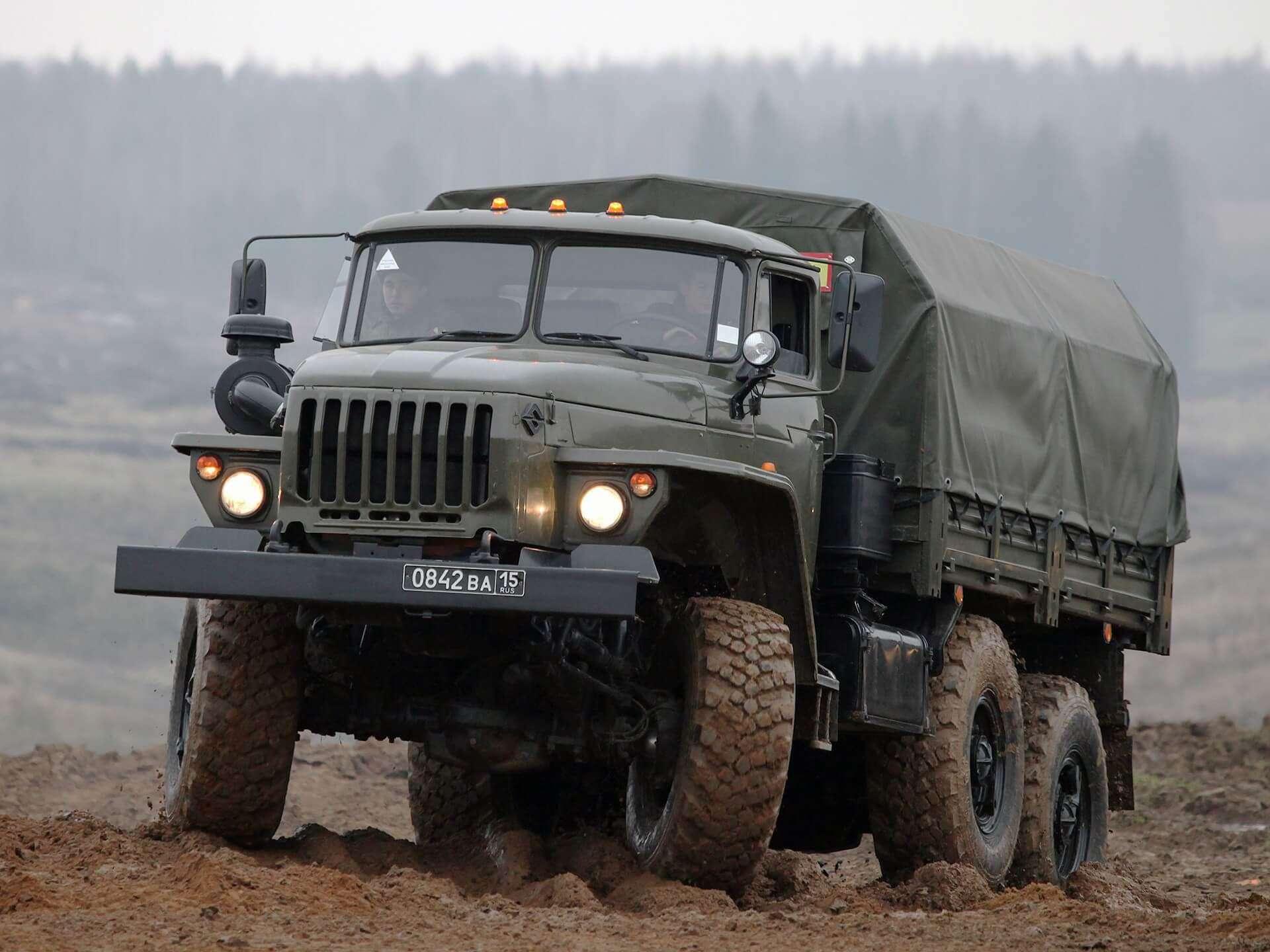 Урал-4320 — обзор, технические характеристики, фото модификации