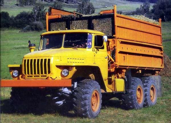 Урал 5557 технические характеристики: двигатель и трансмиссия