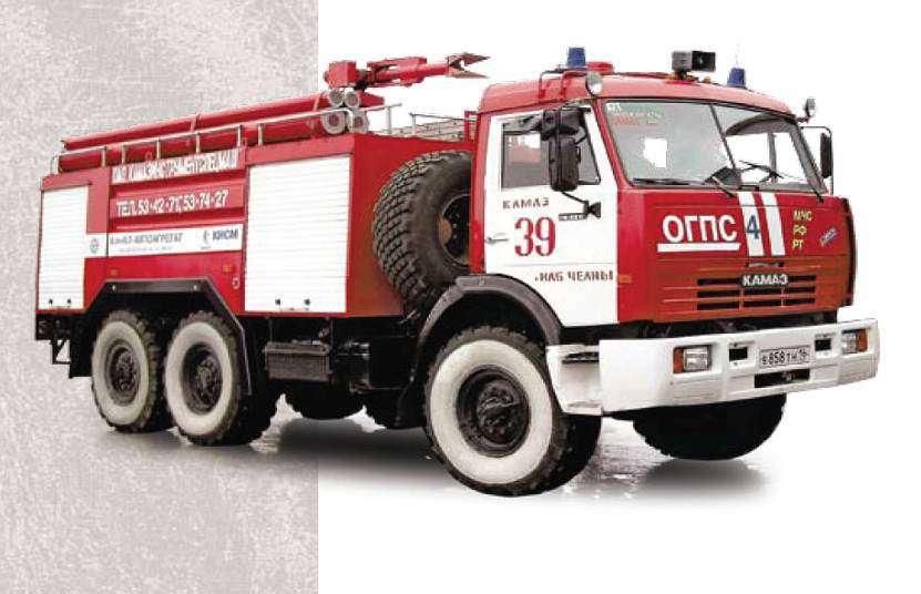 Устройство пожарного автомобиля: система управления, трансмиссия и оборудование