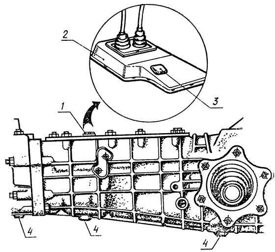 Устройство трансмиссии луаз 969м
