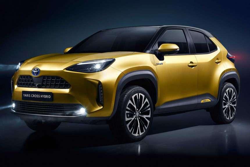 Toyota Yaris Cross 2021 года новая модель, фото, цена, характеристики, дата выхода в России