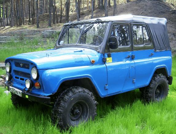 Тюнинг капота УАЗ 469 своими руками