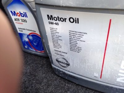 Какое масло в ниссан альмера