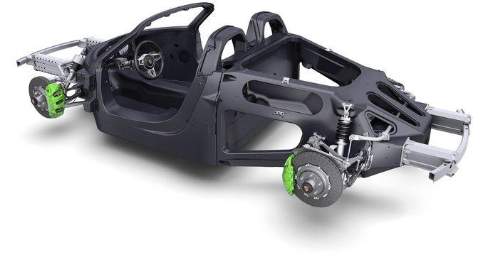 Кузов автомобиля: сталь, алюминий, карбон и… картон?