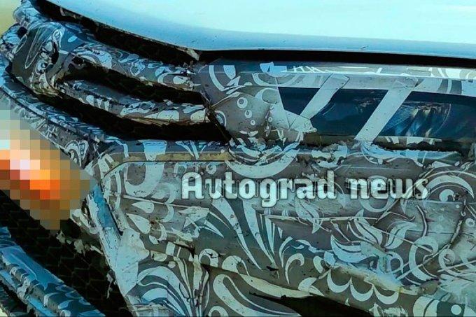 Базовый обновлённый седан Lada Vesta FL был замечен в Тольятти
