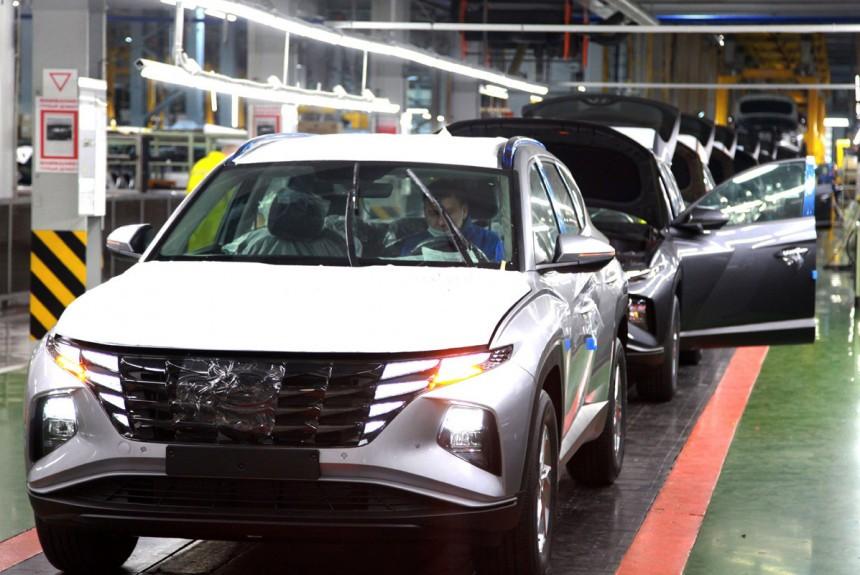 Новый Hyundai Tucson начали собирать в России