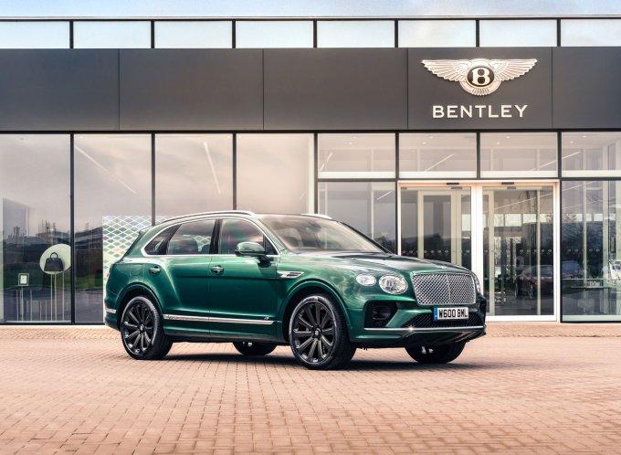 Bentley Bentayga получил 22-дюймовые карбоновые колёсные диски