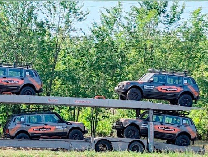 Экстремальная Lada Niva Legend Bronto cкоро поступит в продажу