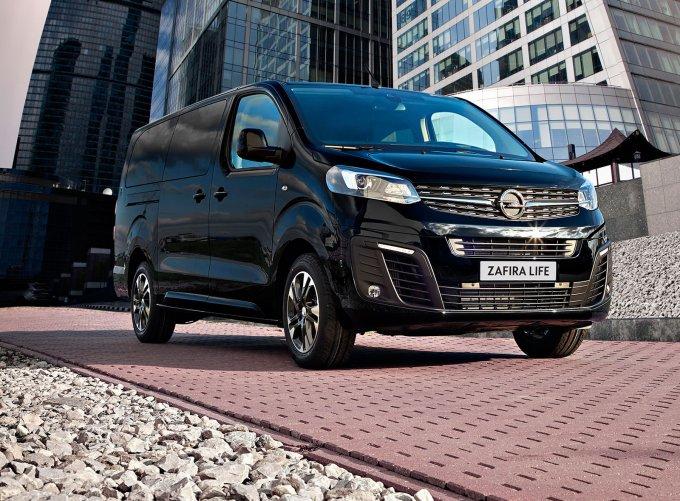 Полноприводные Opel Zafira Life и Vivaro стали доступны для заказа в России