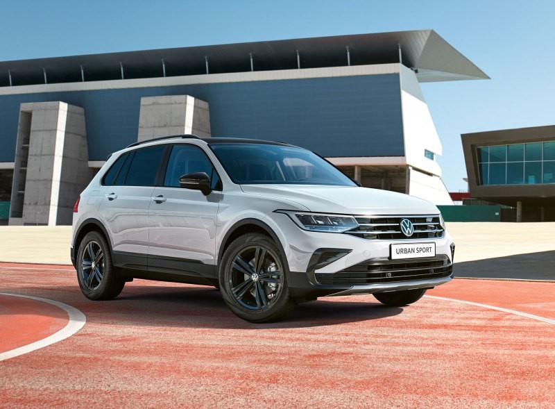 Volkswagen Tiguan Urban Sport появился в продаже от 2.459.900 руб.