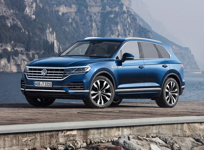 Volkswagen Touareg получил обновлённый пакет «Парковка плюс» на российском рынке