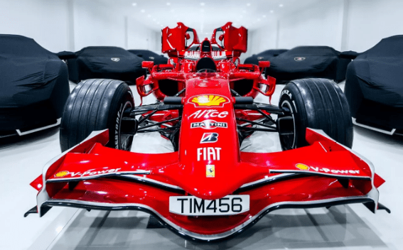 10 машин с названиями из Формулы 1