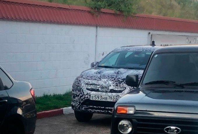 Новый Renault Logan Stepway испытывают в России
