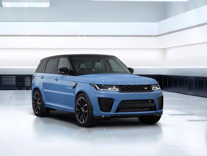 Range Rover Sport SVR Ultimate: в России от 12.227.000 руб.