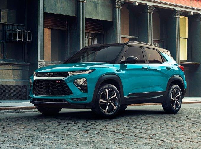 Chevrolet Trailblazer появился в продаже в России
