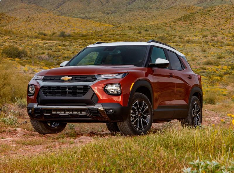 Новый Chevrolet Trailblazer в России: стали известны все цены