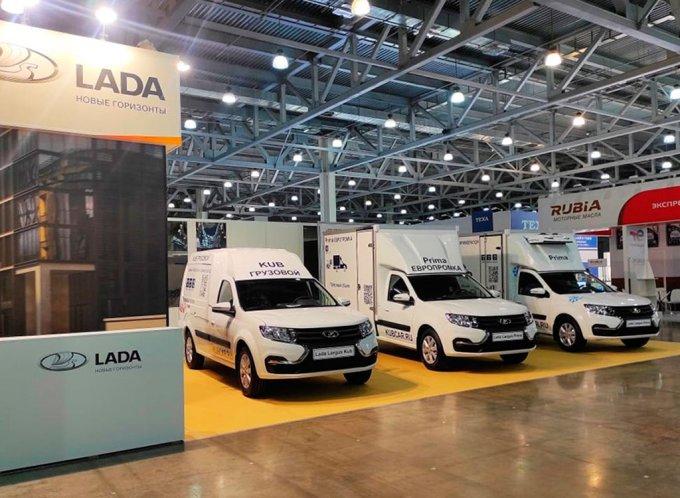 Обновлённый Lada Largus получил новые коммерческие версии