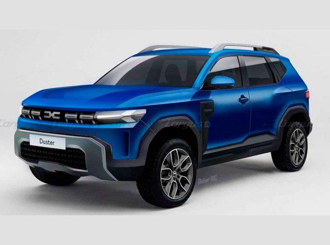 Renault Duster третьего поколения находится в разработке