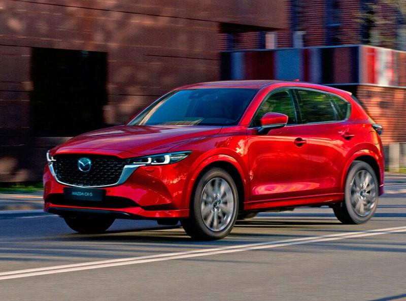Кроссовер Mazda CX-5 обновили