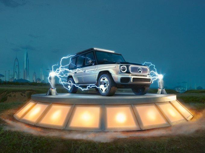 Mercedes-Benz подробнее рассказал про электрический G-Класс