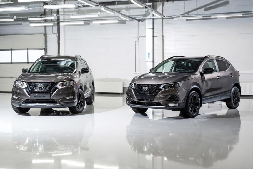 Nissan Qashqai и Nissan X-Trail версии N-Design появились в России