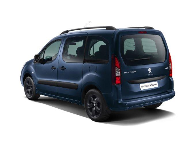 Peugeot Partner Crossway получит версию для работы в такси
